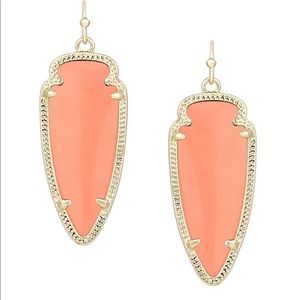 Coral Kendra Scott Earrings